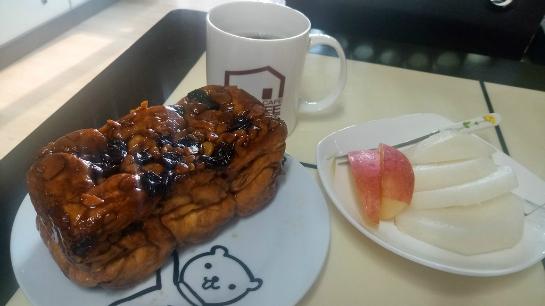 [여가/생활] 어글리스토브빵과 커피~ 보리밥과 김치전!