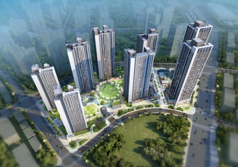 시티오씨엘 3단지 조감도[사진 = HDC현대산업개발·현대건설·포스코건설(시행사 DCRE)]