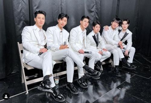 '미스터트롯' TOP6 사진=뉴에라프로젝트 미스터트롯 공식 인스타그램