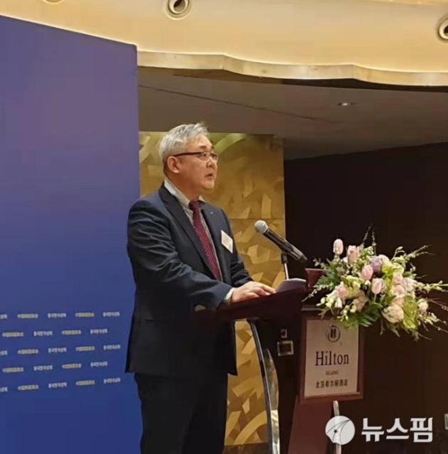 이호철 중국 두산 총재, 중국한국상회 회장에 작년 이어 연임