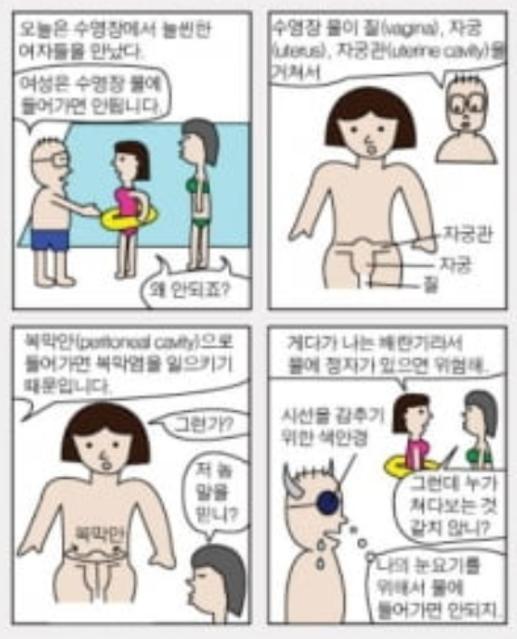 """""""쭉쭉빵빵 아가씨는 눈보약"""" 정민..."""