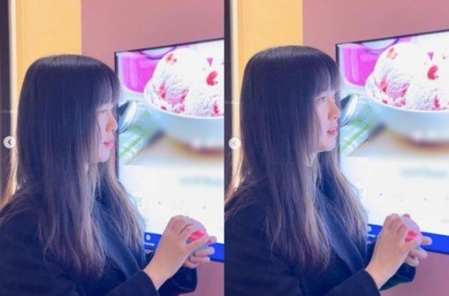 """'민초단' 구혜선 """"아이스크림 자판기에 ..."""
