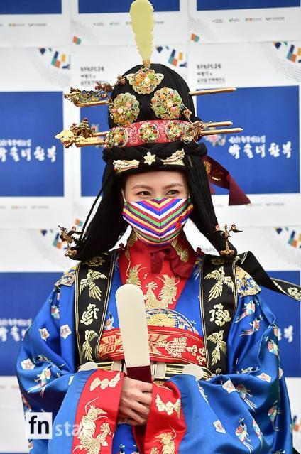 [포토] 에이핑크 오하영, '우아한 중전...