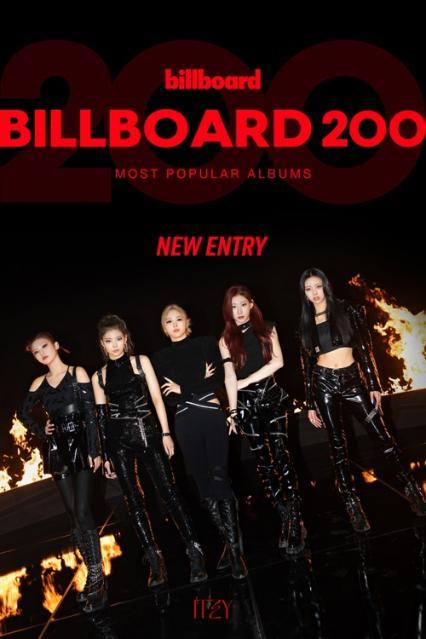ITZY(있지), 美 '빌보드 200' ...