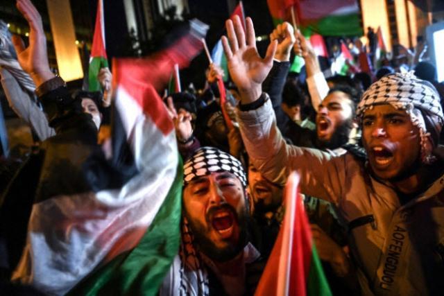 이스라엘-팔레스타인 사흘째 무력충...
