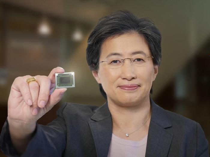 `CPU 여신`으로 통하는 AMD의 리사 수 CEO [사진 출처 = AMD]