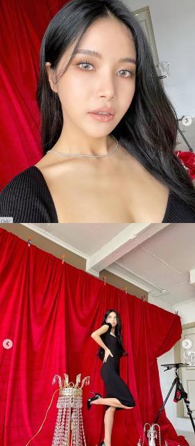 솔라, 은근한 볼륨감+딱 붙는 핏으로 섹시美 자랑 [M+★SNS]