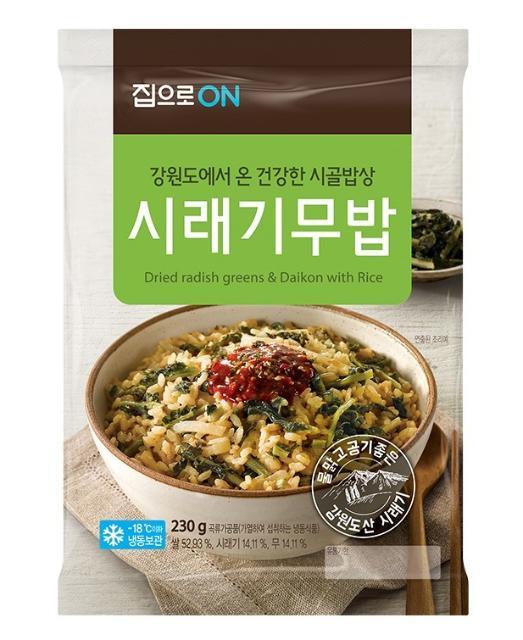 대상, 건강한 나물밥 '시래기무밥' 출시